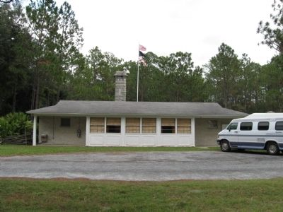 The Battle of Olustee Visitor Center image. Click for full size.