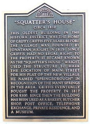 """Squatter's House"" Marker image. Click for full size."