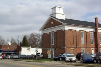 Second Baptist Church image. Click for full size.