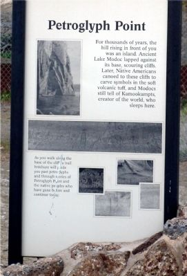 Petroglyph Point Marker image. Click for full size.