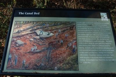 The Canal Bed Marker image. Click for full size.