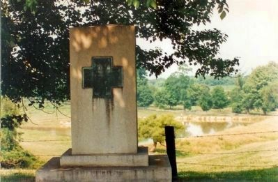Federal Retreat Marker image. Click for full size.