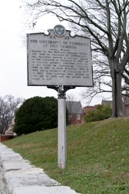 The University of Tennessee at Chattanooga Marker image. Click for full size.