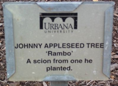 "Johnny Appleseed Tree ""Rambo"" Marker image. Click for full size."