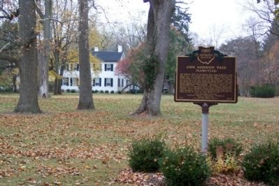 John Anderson Ward Farmstead / John Quincy Adams Ward & Edgar Melville Ward Marker image. Click for full size.
