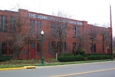 The Johnson Manufacturing Company and Marker image. Click for full size.