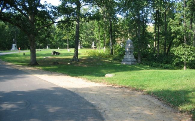 109th Pennsylvania Infantry Monument image. Click for full size.