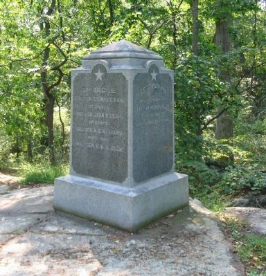 29th Pennsylvania Volunteers Monument image. Click for full size.