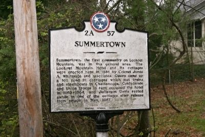 Summertown Marker image. Click for full size.