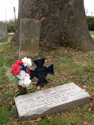 Gravesite of Lt. John Murray at the Ascension Episcopal Church image. Click for full size.