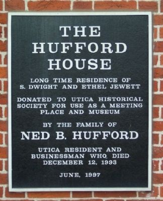 The Hufford House Marker image. Click for full size.