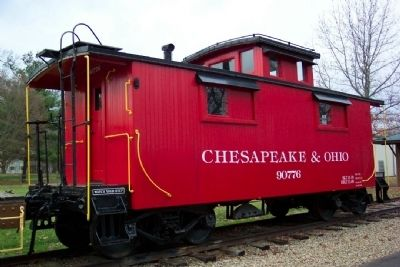 C & O Caboose image. Click for full size.