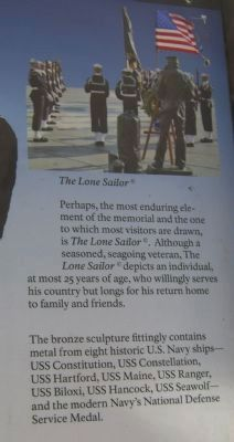 The Lone Sailor image. Click for full size.