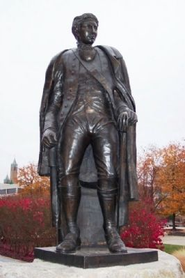 George Rogers Clark Statue image. Click for full size.