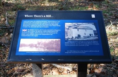 Where There's a Mill... Marker image. Click for full size.