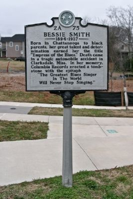 Bessie Smith Marker image. Click for full size.