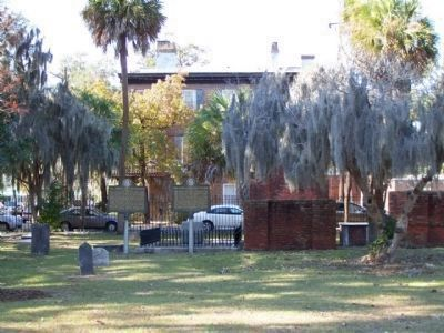Col. James S. McIntosh Marker, seen near Oglethorpe St., in Colonial Park Cemetery,Savannah image. Click for full size.