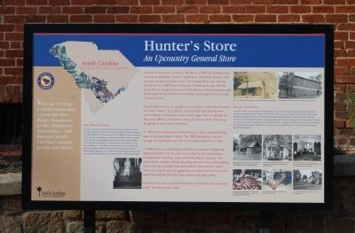 Hunter's Store Marker image. Click for full size.