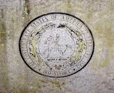 The Seal of the Confederate States of America image. Click for full size.