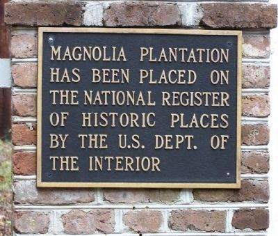 Magnolia Plantation Marker image, Touch for more information