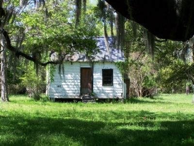 Magnolia Plantation , one time slave quarters image. Click for full size.