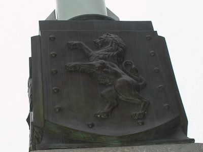 North Bronze Plaque image. Click for full size.
