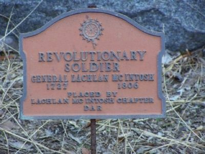 General Lachlan McIntosh (1727-1806) Marker image. Click for full size.
