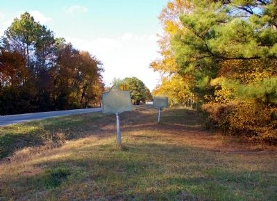Two Markers at Cassville image. Click for full size.