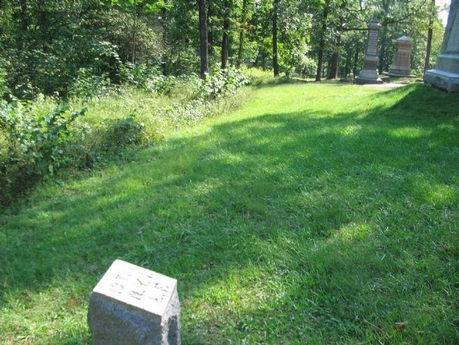 137th New York Infantry Left Flank Marker image. Click for full size.