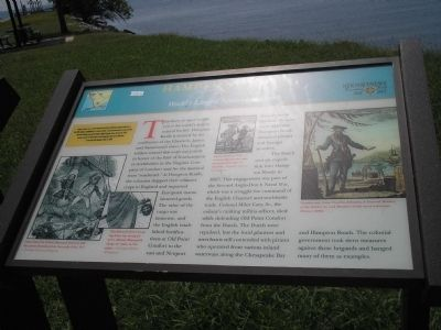 Hampton Roads Marker image. Click for full size.