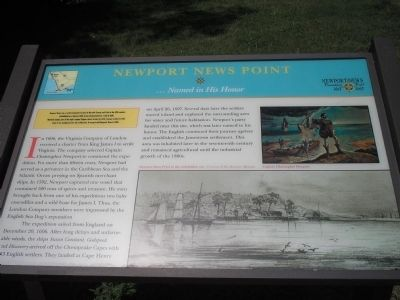 Newport News Point Marker image. Click for full size.