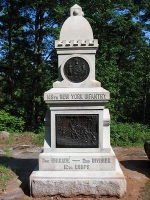 149th New York Infantry Monument image. Click for full size.
