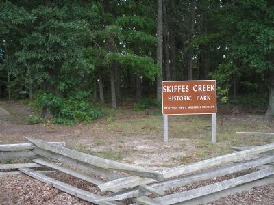 Skiffes Creek Historic Park image. Click for full size.