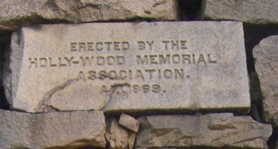 Confederate Memorial Pyramid Marker (west side) image. Click for full size.
