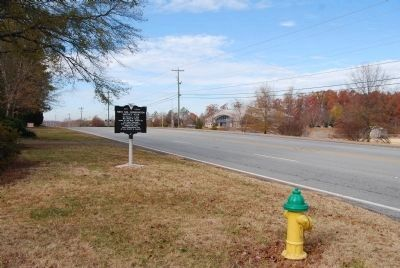 First Soil Conservation District Plan Marker Looking Southwest Along South West 4th Street image. Click for full size.