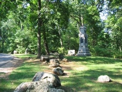 150th New York Infantry Monument image. Click for full size.