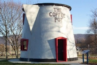 The Coffee Pot and Marker image. Click for full size.