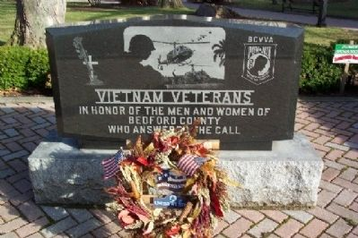 Bedford County Vietnam Veterans Memorial image. Click for full size.