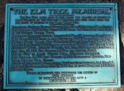The Elm Tree Memorial image. Click for full size.