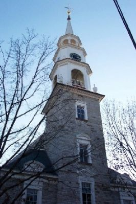 Evangelical Reformed Church Steeple image. Click for full size.