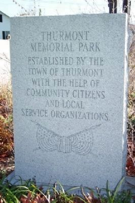 Thurmont Memorial Park Marker image. Click for full size.
