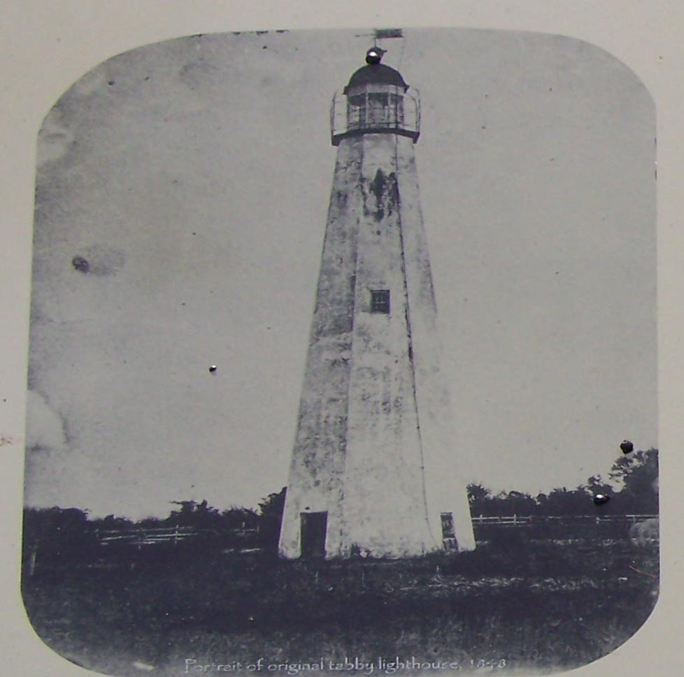 Portriat of Original Tabby Lighthouse 1848