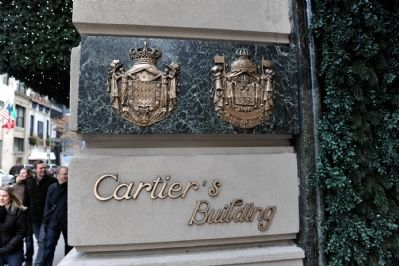 Cartier Building Sign image. Click for full size.