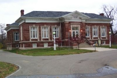 Former Carnegie Library image. Click for full size.