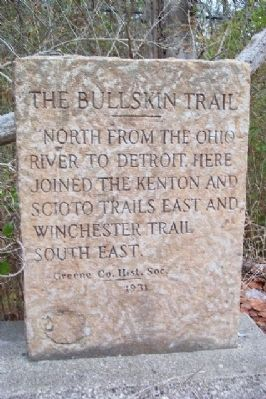 The Bullskin Trail Marker image. Click for full size.