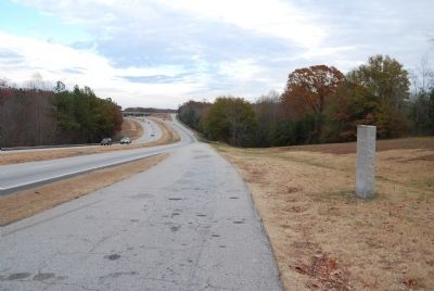 John C. Calhoun Memorial Highway Looking East image. Click for full size.