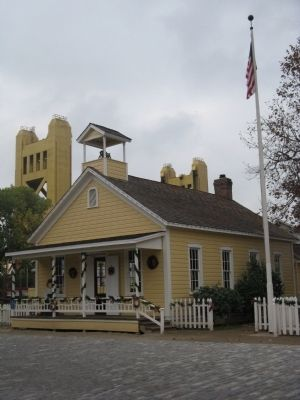 Old Sacramento Schoolhouse Museum image. Click for full size.