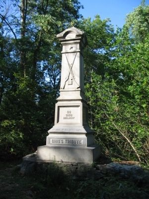 66th Ohio Infantry Monument image. Click for full size.