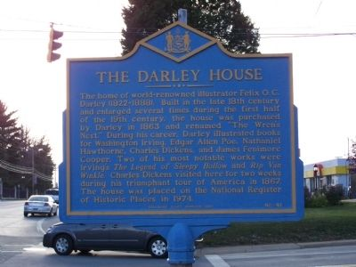 The Darley House Marker image. Click for full size.