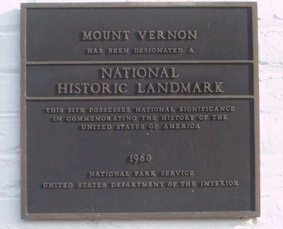 National Historic Landmark - 1960 image. Click for full size.